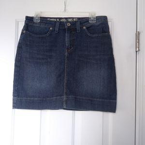 Dickies Denim Skirt Size 6
